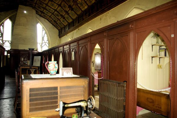 Photograph of the chancel as it looks today